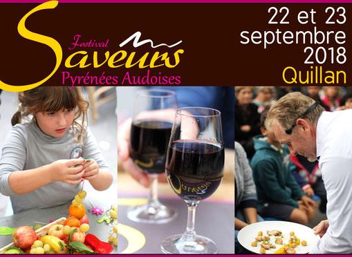 Festival des Saveurs Pyrénées Audoises 2018