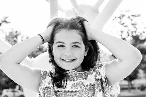 sesión de fotos, book, niña, parque europa, blanco y negro, fotografia de niños, fotografo en madrid, fotografo barato
