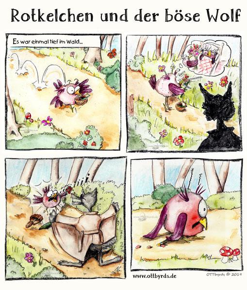 fairy tales, Märchen, böser Wolf, Gebrüder Grimm, Rotkäppchen, ottbyrds