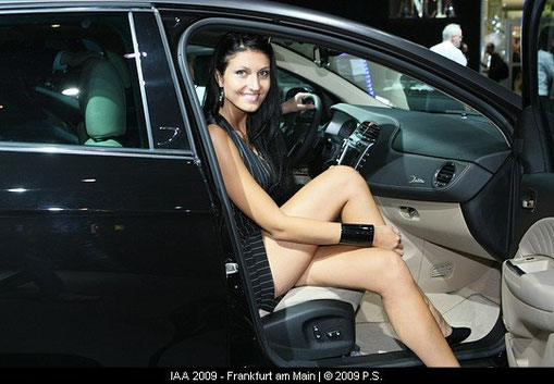IAA Hostess, Girls am Lancia Stand
