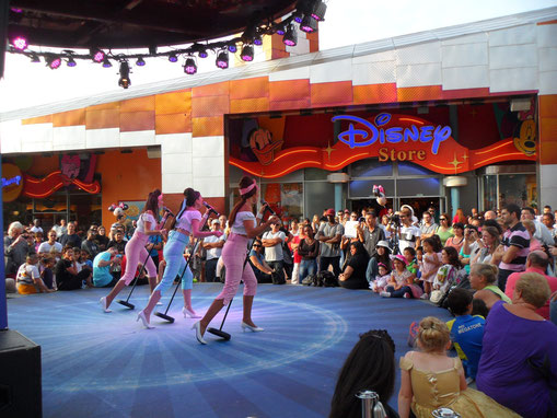 Show case au Disney Village