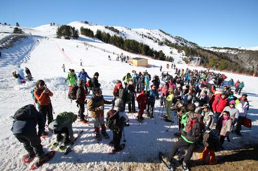 Camuraquette 2019 - Journée raquettes à la station de ski de Camurac