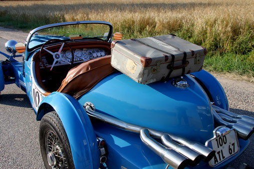 valise vintage camping car van collection ancienne excalibur 35x vacances