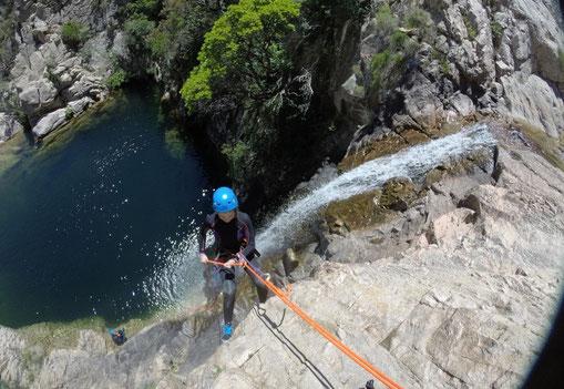 Canyoning Sardaigne Rio Pitrisconi San Teodoro