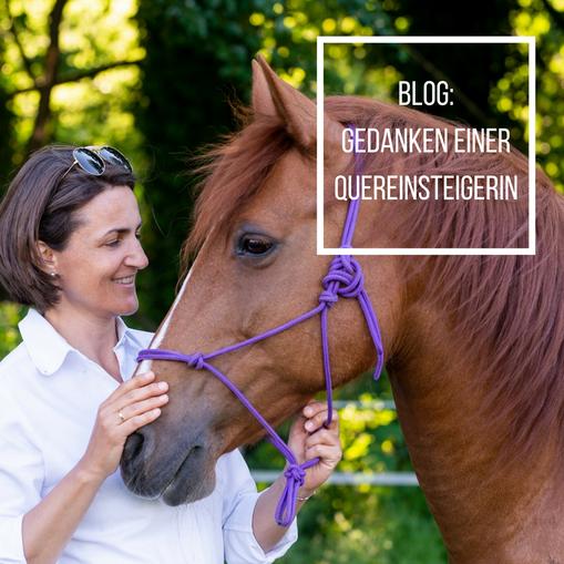Ulrike und Pferd