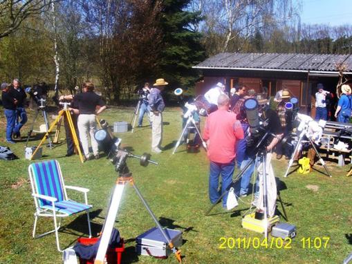 H-alpha Treffen April 2011
