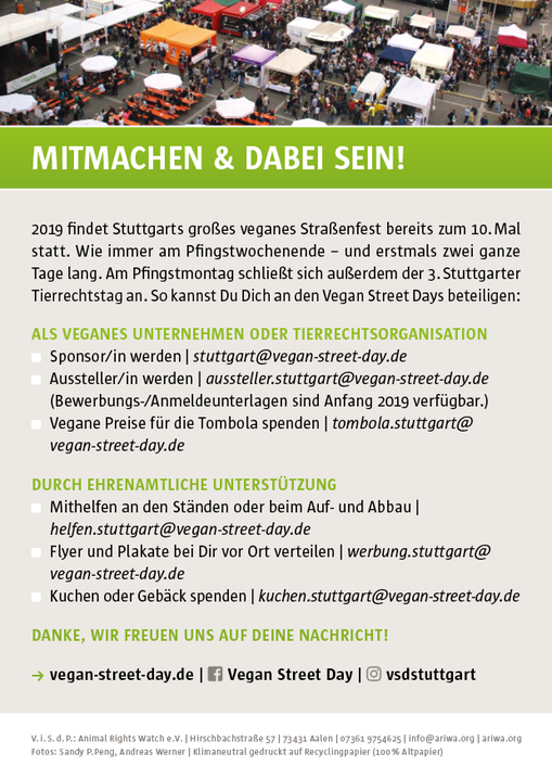 Vegan Street Days Stuttgart