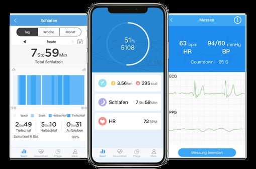 Wear Heart Fitness App