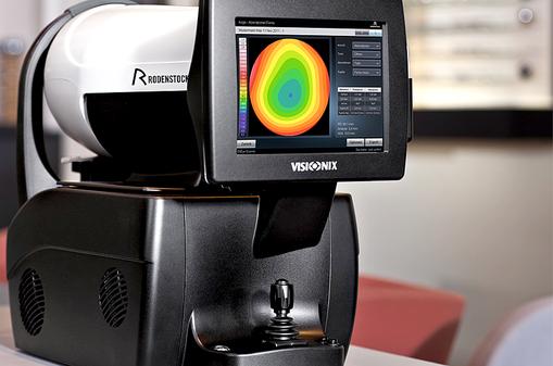Technologie von Rodenstock, Personal EyeModel