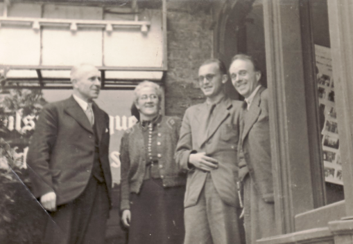 Erwin Bowien in Lobberich on the occasion of the founding of the Rhenish-Westphalian Writers' Association, 1946