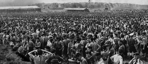 1957 Jubilee Scout Jamboree in Sutton Park - image from the Birmingham Mail