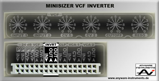 MINISIZER - VCF Section - Inverter Module