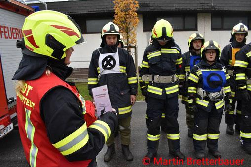 Feuerwehr; Blaulicht; AFKDO Urfahr-Umgebung; Branddienst; Leistungsprüfung; Bronze;