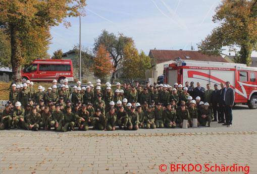 Feuerwehr; Blaulicht; BFKDO Schärding; Jugend; Wissenstest; Bayern; Straßkirchen;