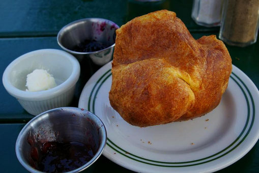 Popovers im Jordan Pond House