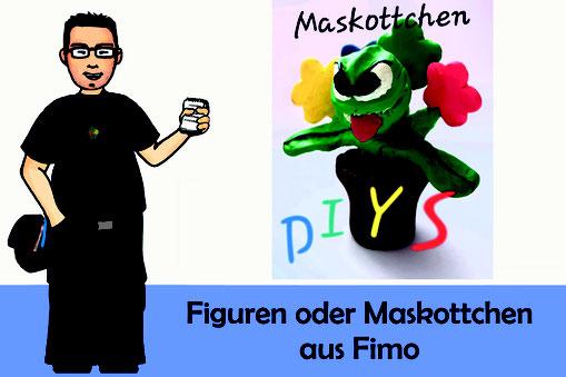 Titelbild: Figuren oder Maskottchen aus Fimo