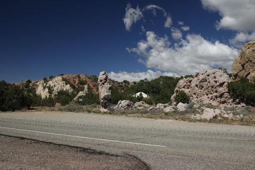 Der Turquoise Trail in New Mexico, USA von Santa Fe bis Albuquerque