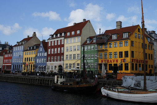Nyhaven, Copenhagen, colorful architecture