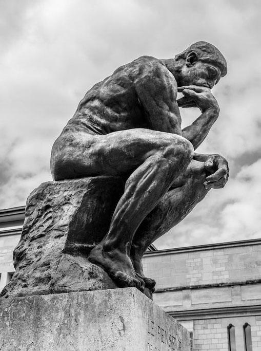 le penseur de Rodin cycle 3