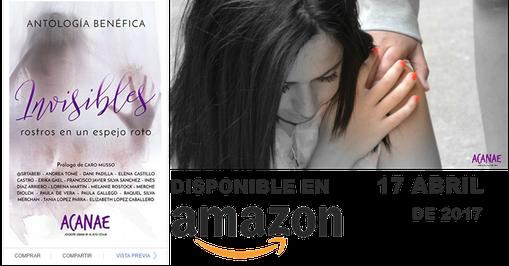 Libro benefico acoso escolar Canarias Invisible rostros en un espejo roto