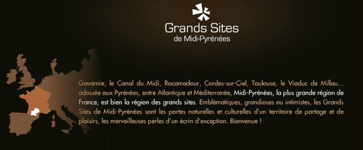 Quels grands sites en Midi Pyrénées à l'avenir ?..