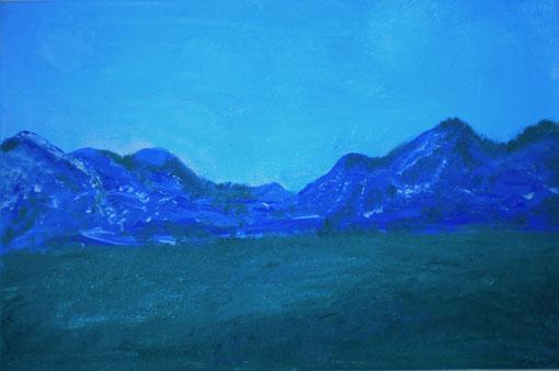 """""""Panorama"""", Acryl auf Lwd., 40x60, 2010"""