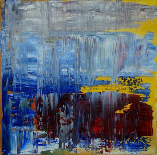 """""""Am Eis"""", Acryl auf Lwd., 40x40, 2012 Nr.:12055"""