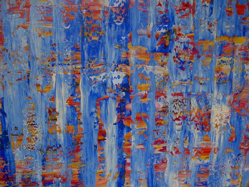 """""""Hoffnung"""", Acryl auf Lwd., 100x100, 2012  Nr.:12111"""