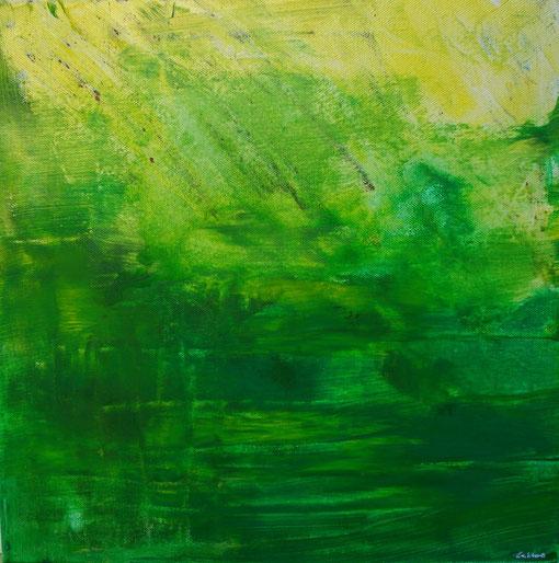 """""""Natur"""", Acryl auf Lwd., 40x40, 2011  Nr.:11046"""