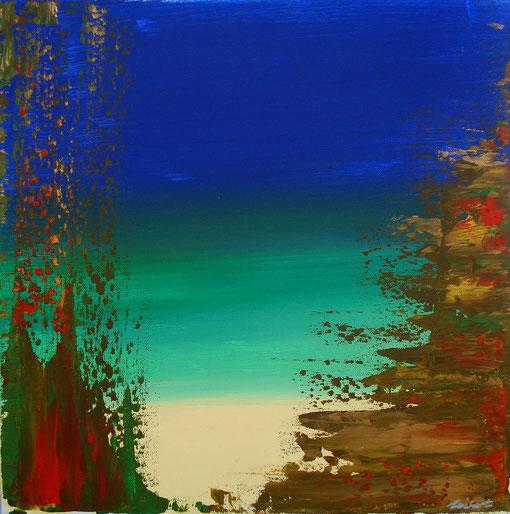 o.T., Acryl auf Lwd., 40x40, 2012, Nr.:12059