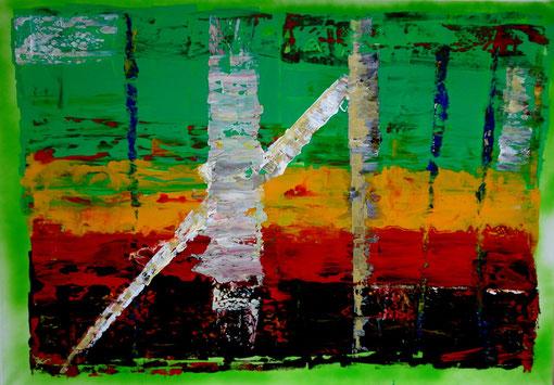o.T., Acryl auf Lwd., 70x100, 2011 Nr.:11130