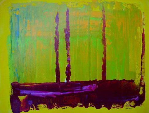 """""""Altes Boot"""", Acryl auf Lwd., 40x50, 2011  Nr.:11100"""
