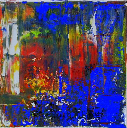 o.T., Acryl auf Lwd., 30x30, 2011  Nr.:11110