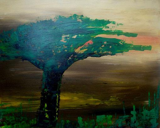 """""""Namib"""", Acryl auf Lwd., 40x50, 2012  Nr.:12031"""