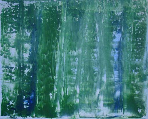 """""""Im Wald"""", Acryl auf Lwd., 40x50, 2012  Nr.:12037"""