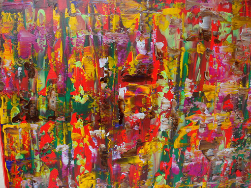 o.T., Acryl auf Lwd., 50x70, 2012  Nr.:12118