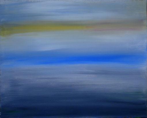 """""""Graue Landschaft"""", Acryl auf Lwd., 40x50, 2012  Nr.:12035"""