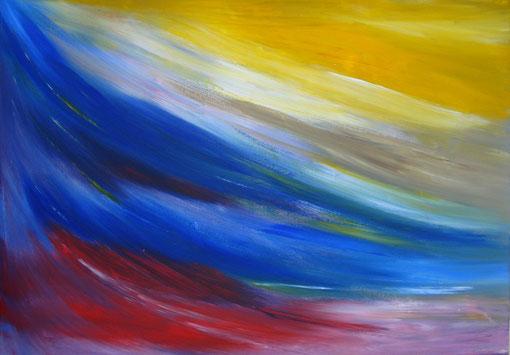 """""""Himmel"""", Acryl auf Lwd., 50x70, 2012  Nr.:12083"""