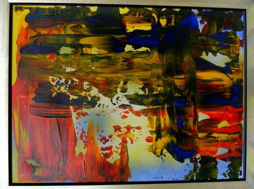 o.T., Acryl auf Karton, 40x50, 2012  Nr.:12069