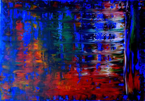 o.T., Acryl auf Lwd., 70x100, 2012  Nr.:12105