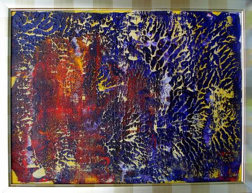 o.T., Acryl auf Karton, 40x50, 2012  Nr.:12072
