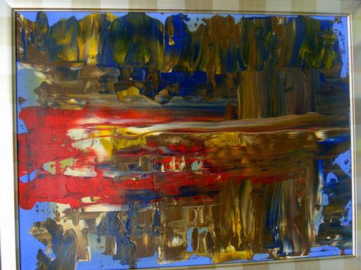 o.T., Acryl auf Karton, 40x50, 2012  Nr.:12068