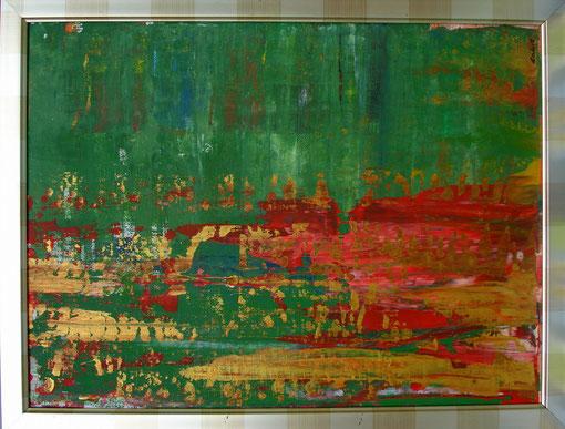 o.T., Acryl auf Karton, 40x50, 2012  Nr.:12070
