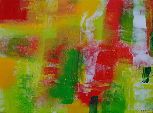 """""""Frühling"""", Acryl auf Karton, 30x40, 2011  Nr.:11010"""