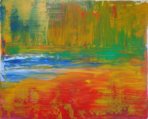 """Naturglühen"", Acryl auf Lwd., 40x50, 2012  Nr.:12034"