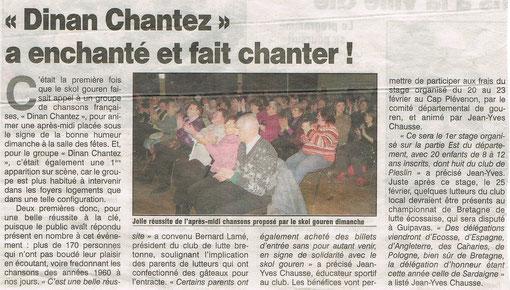 Le Petit Bleu - 16 février 2012