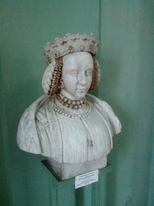 Мраморный бюст королевы Варвары Радзивилл