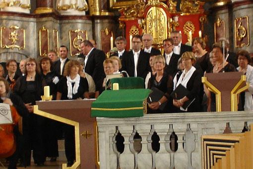Jubiläumsgottesdienst - 90 Jahre Sängerkreis SW - Kiliankirche Oberelsbach - 010712