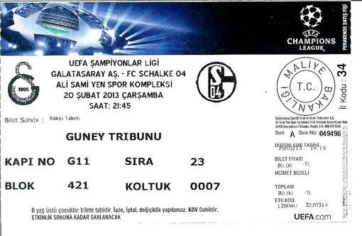 Galatasaray 20.02.2013