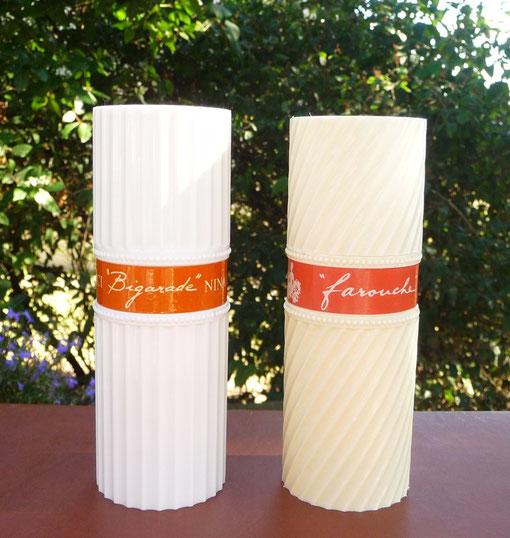 BIGARADE & FAROUCHE - VAPORISATEURS BLANCS RECHARGEABLES